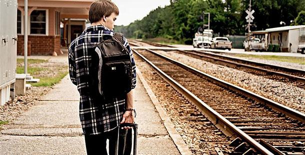 Teen Running Away