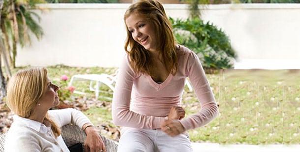 girl talking to a woman | Crosswinds
